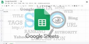 google sheets jako narzędzie seo