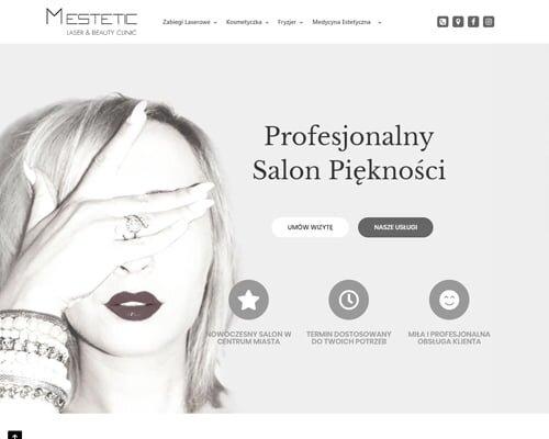 strona www salonu mestetic rzeszów